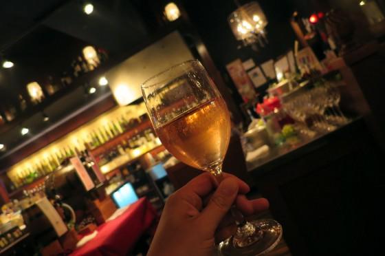 ワインをブレンド