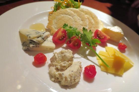 チーズ4種盛り