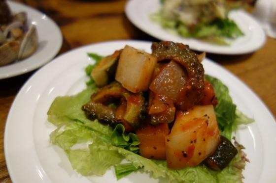 季節の野菜のカポナータ