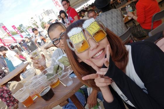 美人眼鏡麦酒