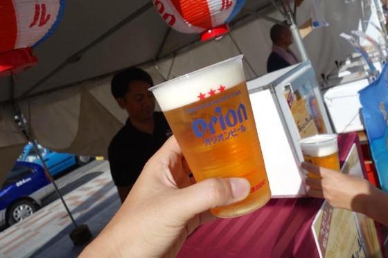 琉球ペールエールで乾杯!