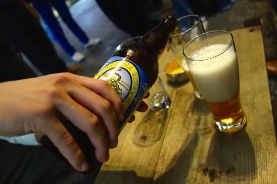 オレゴンのビールで!