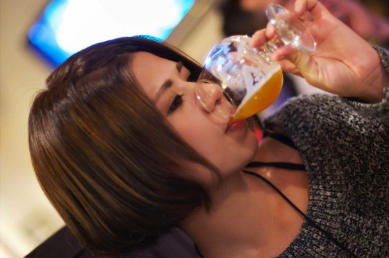 飲みます!
