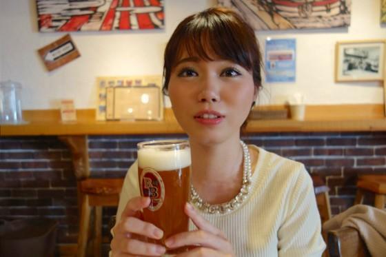 美人×麦酒 きりこさん