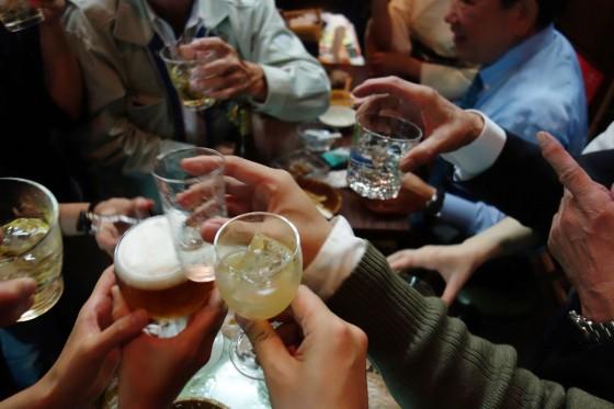 みんなで乾杯!