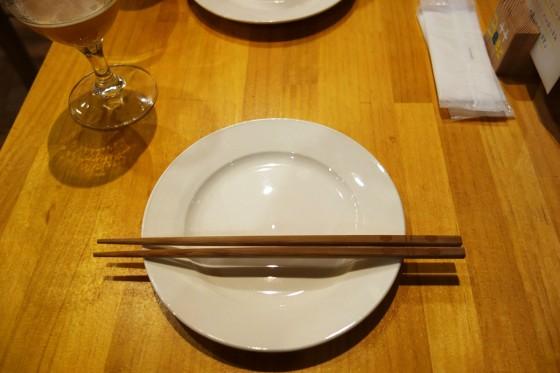 お皿とお箸