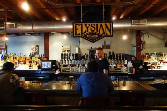 Elysian Fields カウンター