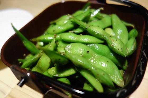焼き枝豆(450円)