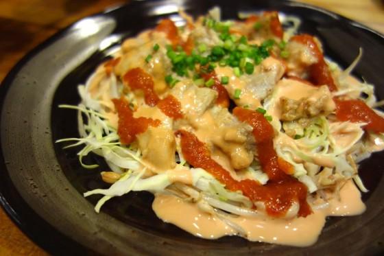 トルコ風チキン鉄板焼(700円)