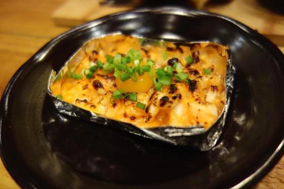 炙り塩辛(500円)
