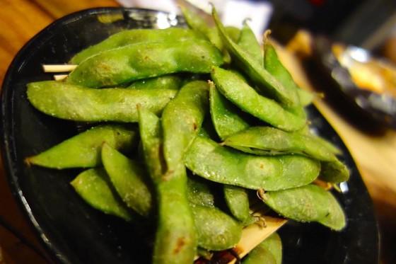 焼き黒枝豆(400円)