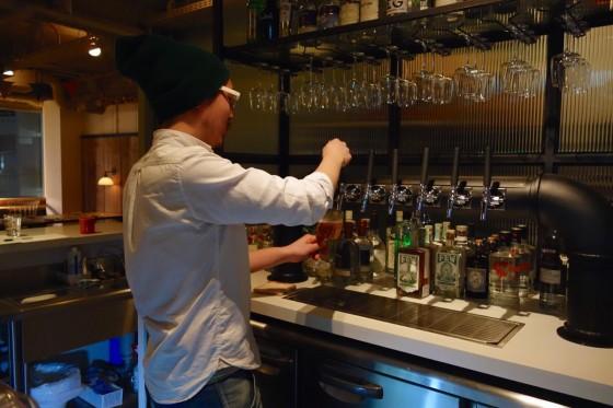 樽生ビールは6種類