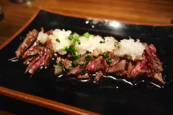 牛サガリたたき(580円)
