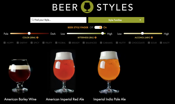 BEER STYLE FINDER