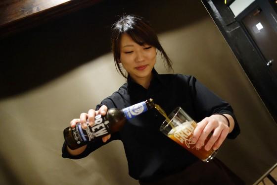 ビール8杯目!