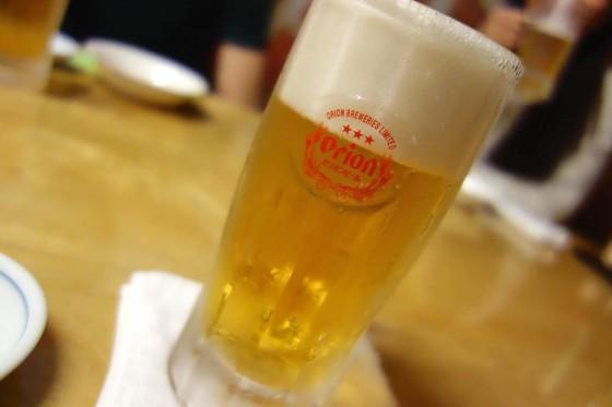 ビールはオリオン麦職人