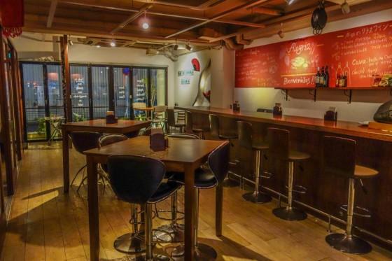 Bar de España Alegria 店内