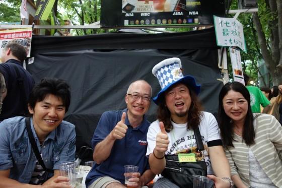 けやきひろば 春のビール祭り 2日目