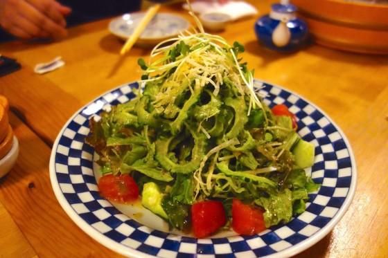 ゴーヤーのサラダ(680円)