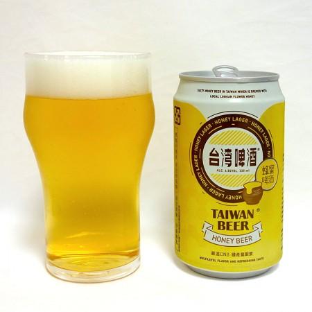 台湾 台灣啤酒 蜂蜜啤酒