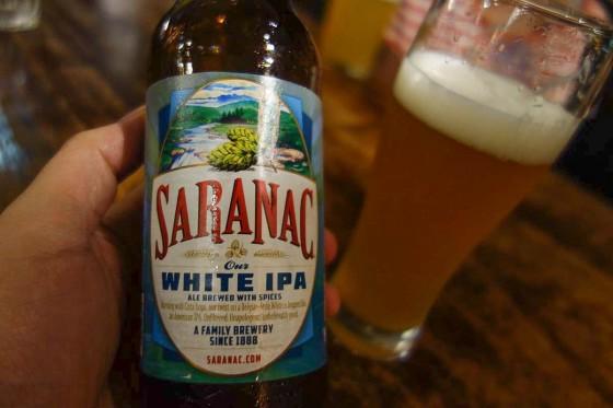 SARANAC WHITE IPA