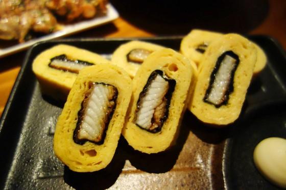 うなぎ入り玉子焼(680円)