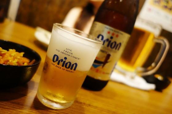 まずはオリオンビール