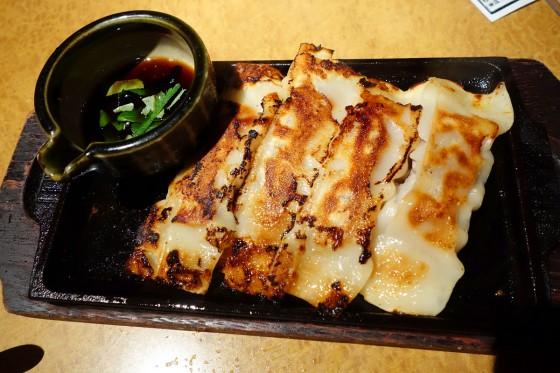 ラム肉入り棒餃子(780円)