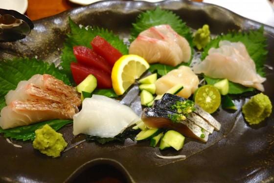 鮮魚七点盛(2,180円)