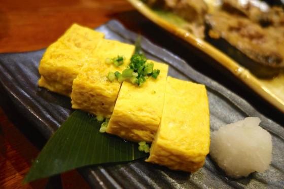 厚焼き玉子(380円)