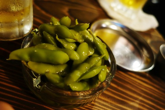 浅漬け茶豆(190円)