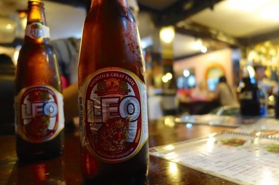 タイのビール LEO