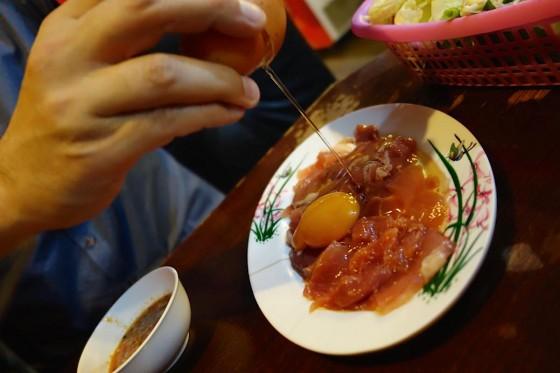 豚肉でチムチュム