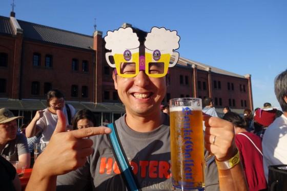 ビールメガネ!