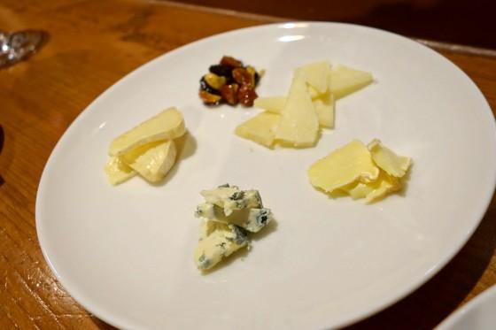 チーズ盛り合わせ(980円)