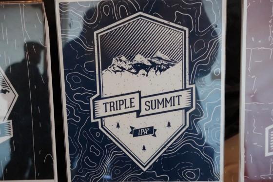 Six Corners Brew Works triple summit