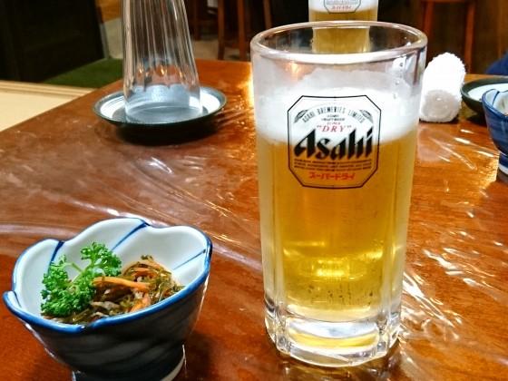 ビールはスーパードライ!