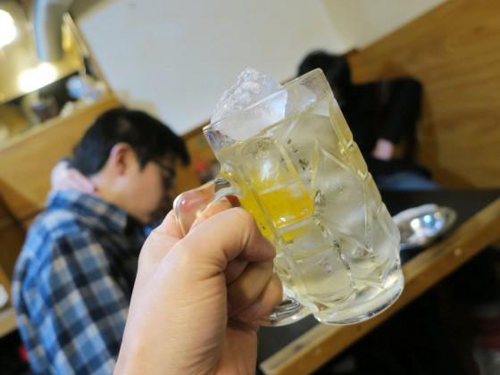 ハイボール(150円)