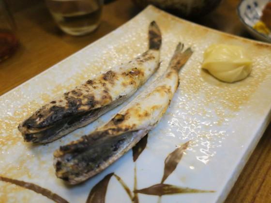 氷下魚(350円)