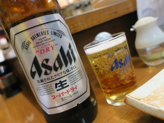瓶ビール!