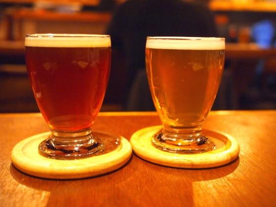 ともに北海道のビール