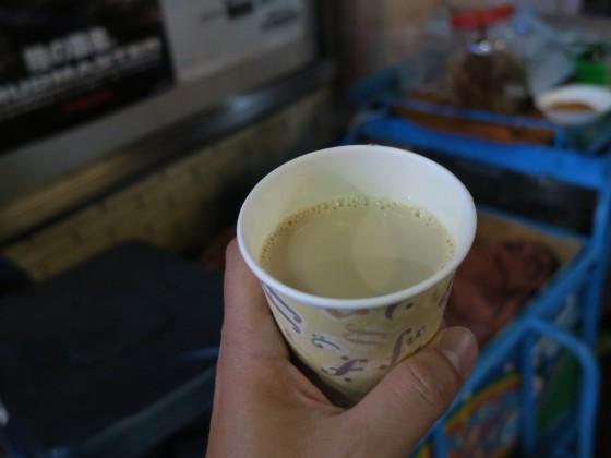 紅茶のお酒&豆乳のカクテル