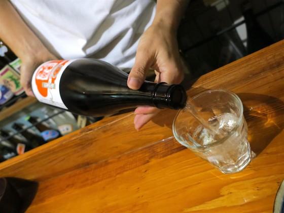 日本酒をいただきます!