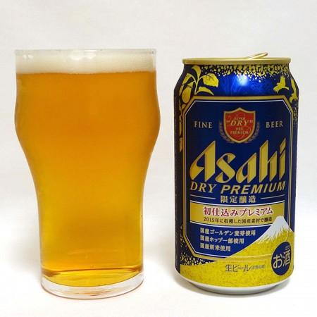 アサヒビール ドライプレミアム 初仕込みプレミアム