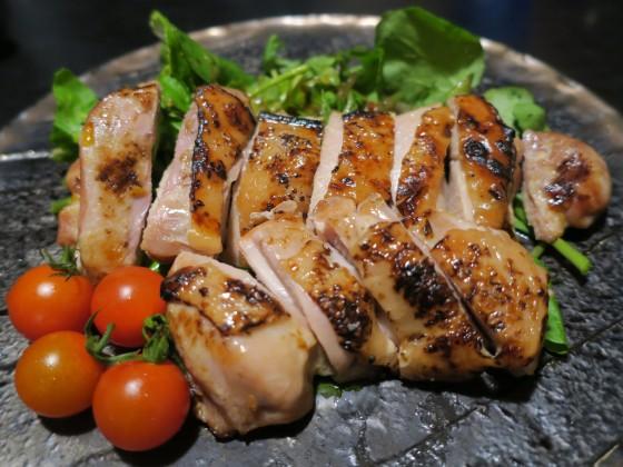 山原若鶏もも肉幽庵焼き(880円)
