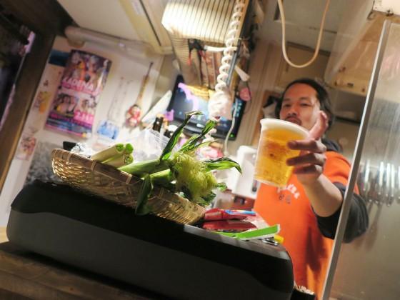 ビールはプラカップ