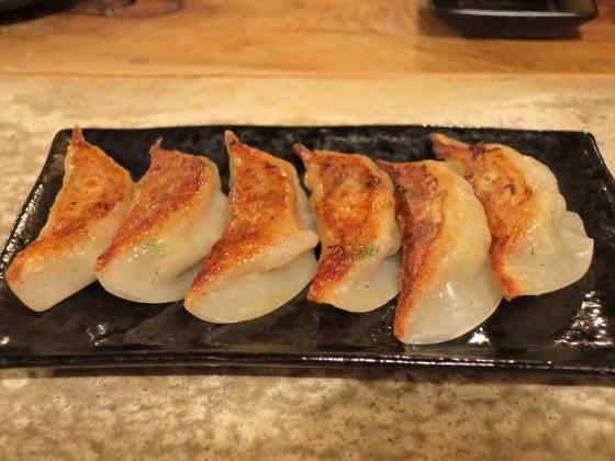 県産豚焼き餃子(450円)