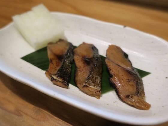 へしこ炙り(450円)