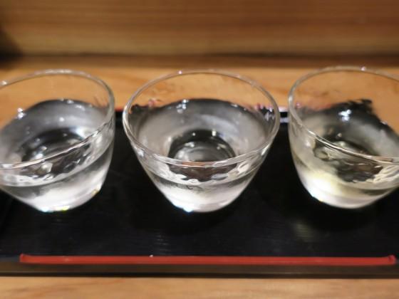 利き酒セット(800円)