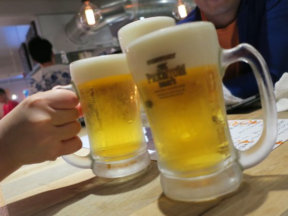 プレモルで乾杯!